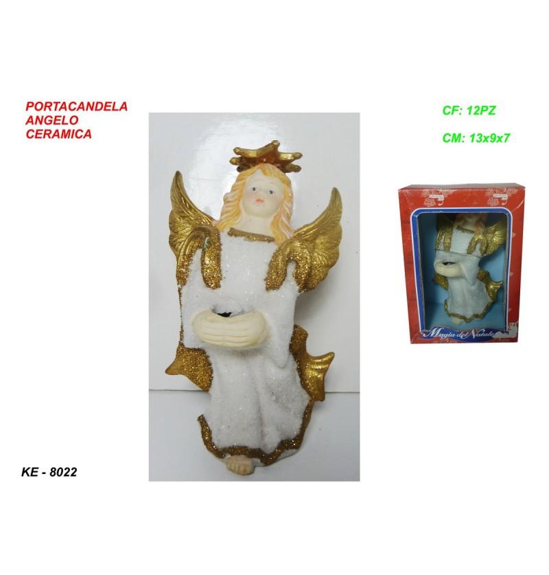 PORTACAND ANGELO CERAM 13 CM