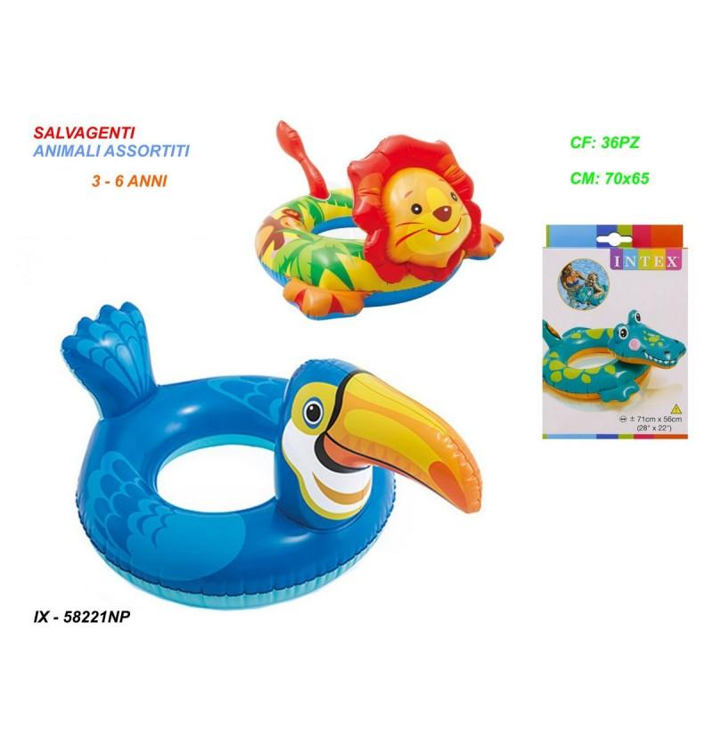 salvagente-animali-assortiti-cm.70x65