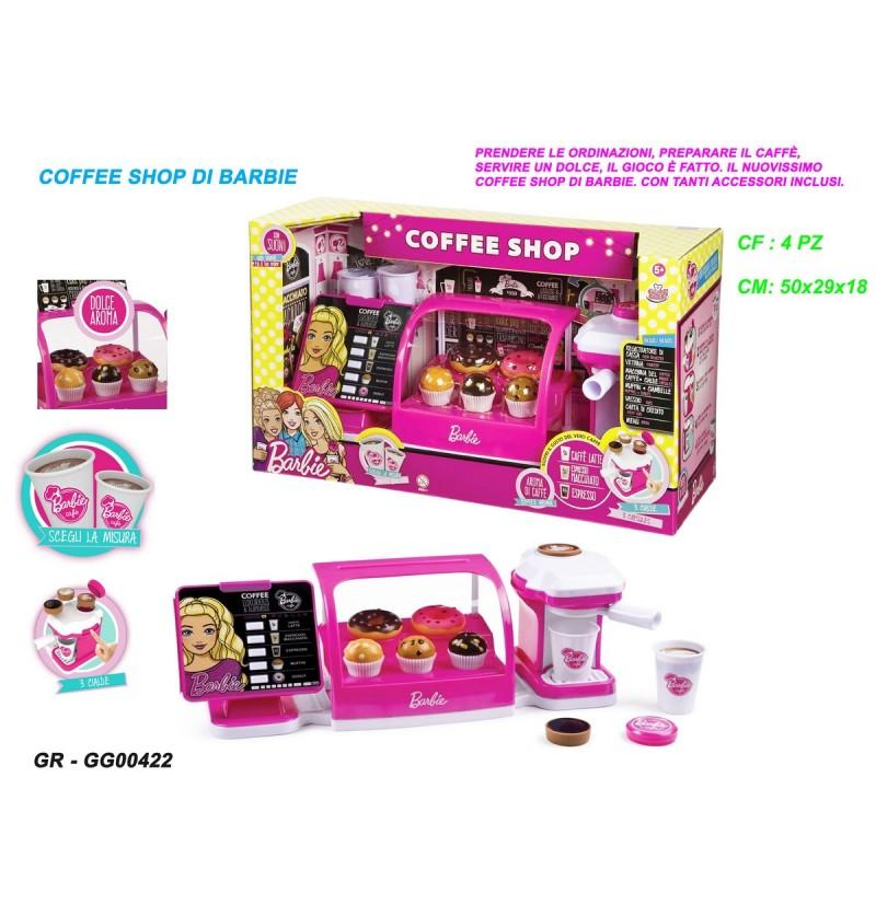 COFFEE SHOP DI BARBIE GRANDI GIOCHI  GG00422