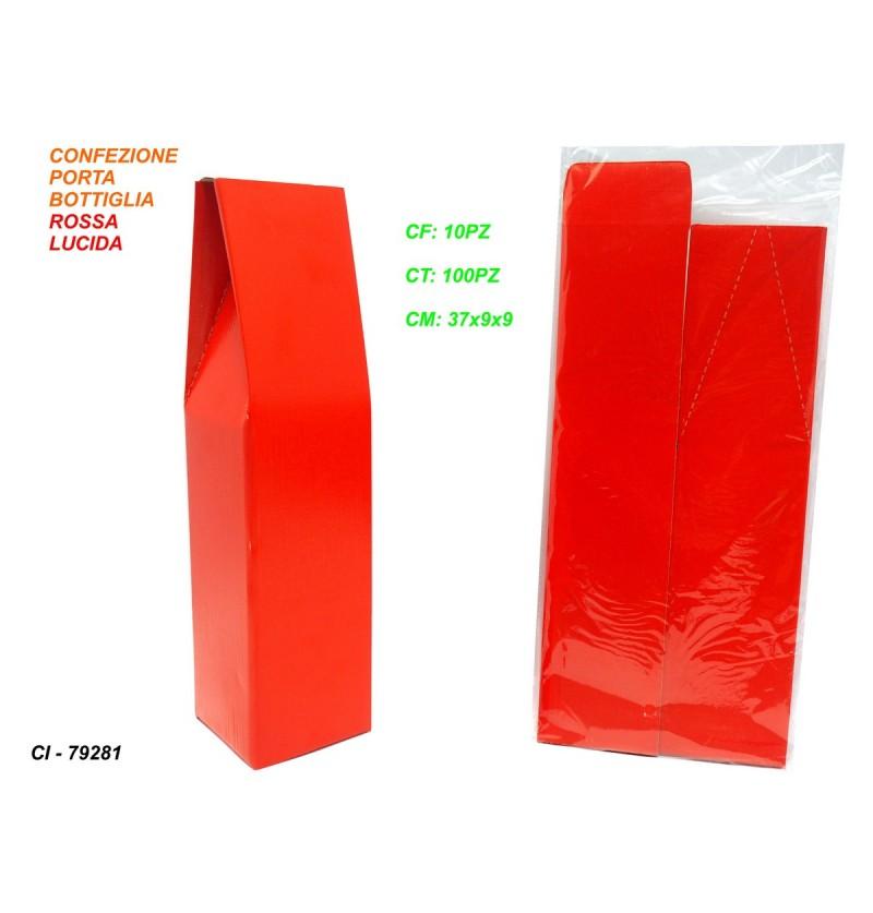 confezione-porta-bottiglia-rossa-lucida