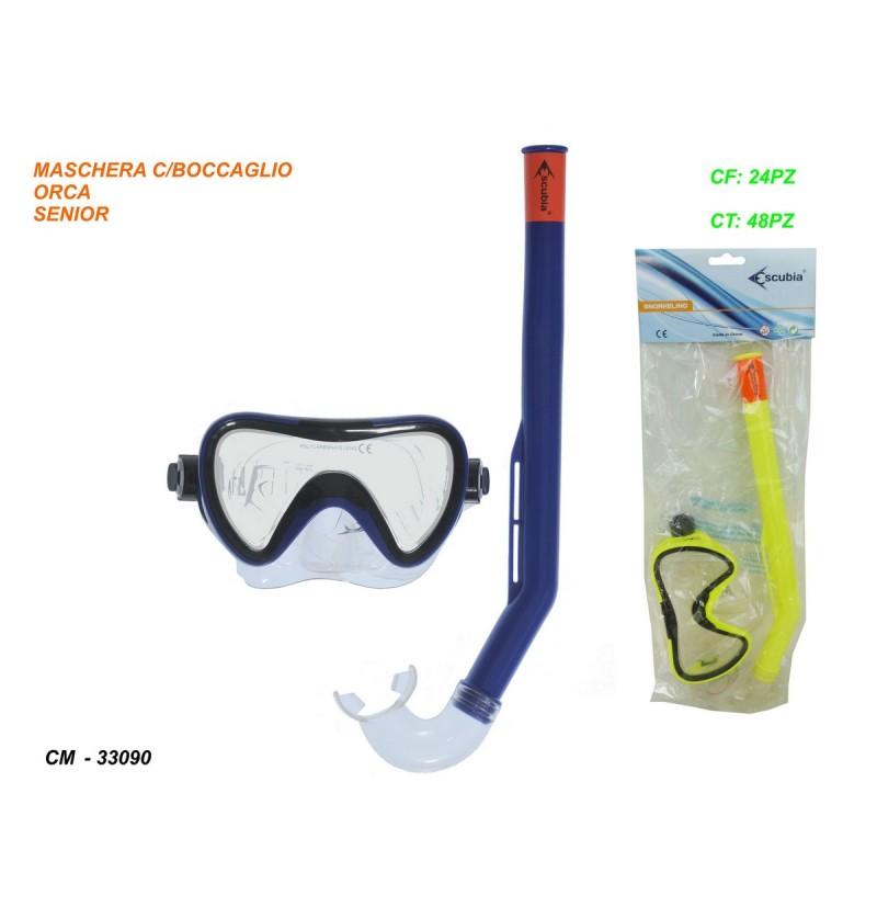 maschera-c/tubo-orca-senior